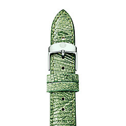 18mm Spring Green Lizard Strap