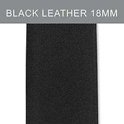 18mm Black Satin Strap