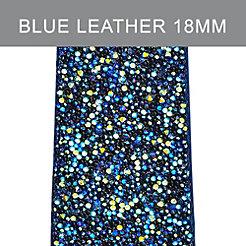18 mm Blue Nights Crystal Strap