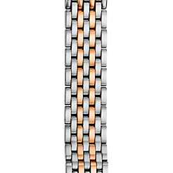 18mm CSX Two-Tone Rose Gold 7-Link Bracelet