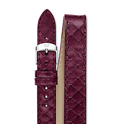 18mm Plum Snake Double Wrap Strap