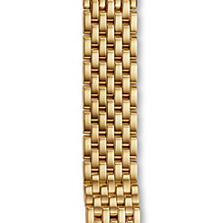 18mm Caber 7-Link Gold Bracelet