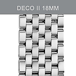 18mm Deco II Stainless Steel Bracelet
