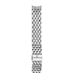 Sidney Diamond Taper Stainless Steel 7-link Bracelet