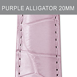 20mm Pastel Purple Alligator Strap