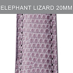 20mm Elephant Lizard Strap