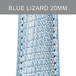 20mm Air Blue Lizard Strap