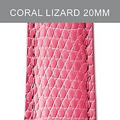 20mm Coral Lizard Strap