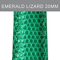 20mm Emerald Lizard Strap