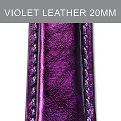 20mm Dark Violet Strap