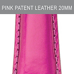 20 mm Pink Patent Leather Strap