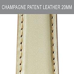 20mm Champagne Strap