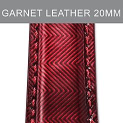 20mm Garnet Red Strap