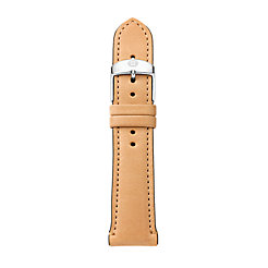 20 mm Tan Leather Strap