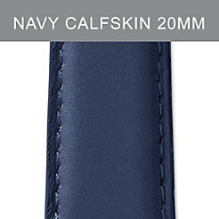 20mm Navy Calfskin Strap