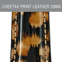 20mm Urban Cheetah Fashion Patent Strap