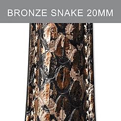 20mm Bronze Brown Strap