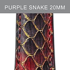 20mm Purple Peacock Strap