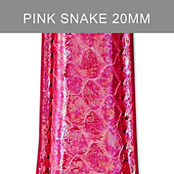 20mm Pink Flamingo Fashion Snake