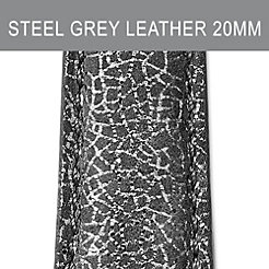 20mm Steel Grey Strap