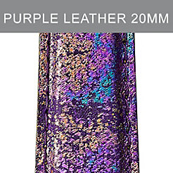 20mm Purple Impression Strap