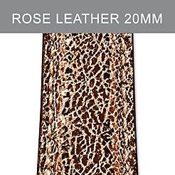 20mm Pale Rose Metallic Strap