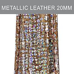 20mm Metallic Multi Strap