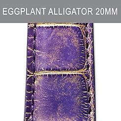 20mm Eggplant Strap