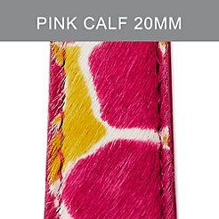 20mm Pink Cheetah Strap