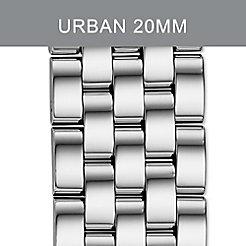 20mm Urban 5-Link Stainless Steel Bracelet