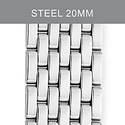20mm Deco XL 7-Link Stainless Steel Bracelet