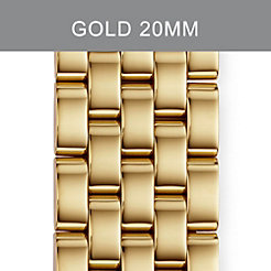 20mm Sport Sail 5-Link Gold Bracelet