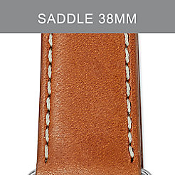 38mm Saddle Leather Strap For Apple Watch