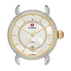 CSX Elegance Diamond Two-Tone, Diamond Dial
