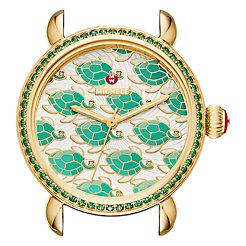 Exotic Creatures Topaz Gold, Turtle Diamond Dial