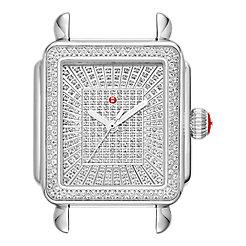 Deco Ultimate Pavé Stainless-Steel Diamond Dial