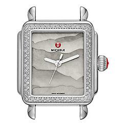 Deco Diamond, Grey Gradient Dial