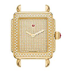 Deco 16 Diamond Gold, Pave Diamond Dial