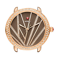 Serein Mid City Lights Diamond Rose Gold, Diamond Dial