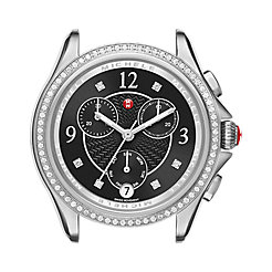 Belmore Chrono Diamond, Black Diamond Dial