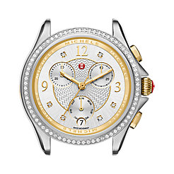 Belmore Chrono Diamond Two-tone, Diamond Dial