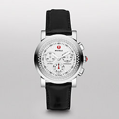 Sport Sail Diamond Black Alligator Watch
