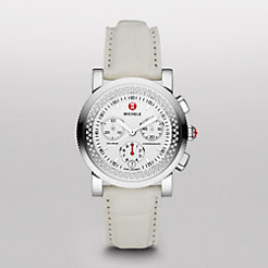 Sport Sail Diamond White Alligator Watch