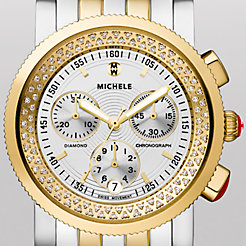 Sport Sail High Shine Diamond Two-Tone Watch