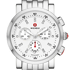 Sport Sail Stainless Diamond Dial Watch