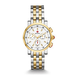 Sport Sail Two-Tone 18k Gold Diamond Dial Watch