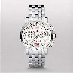 Sport Sail Large White Bracelet Watch