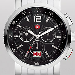 Sport Sail Large Black Bracelet Watch