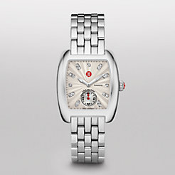Urban Mini White Diamond Dial Bracelet Watch