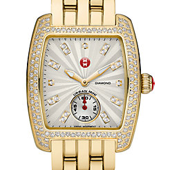 Urban Mini Diamond Gold, Diamond Dial Watch
